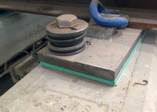 Podložky pod podkladnice pro výhybky VAE